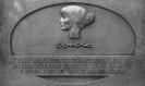 Мемориальная доска, посвященная Ахматовой А.А. г. Хювинкя, Финляндия